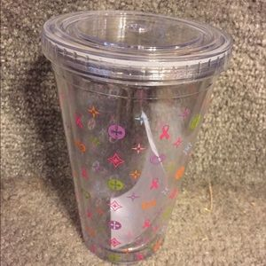 Breast Cancer Insulated Travel Cup